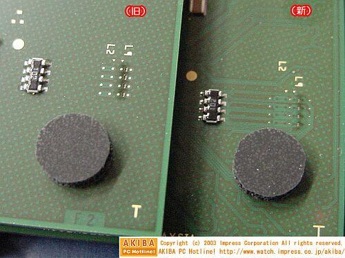 Athlon XP 27648 OPGA behuizing (L1- en L2-bruggen)