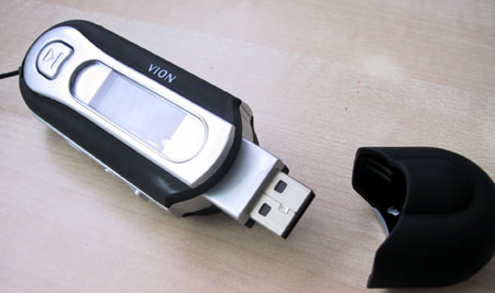 Vion S320 - USB aansluiting