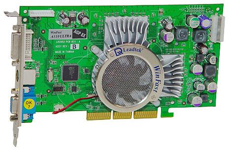 Leadtek WinFast A310 Ultra TD MyVIVO (nVidia GeForce FX 5600 Ultra)