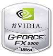nVidia GeForce FX 5900 Ultra logo (klein)