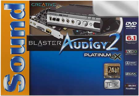 Creative Soundblaster Audigy 2 Platinum eX Review - Audigy Box