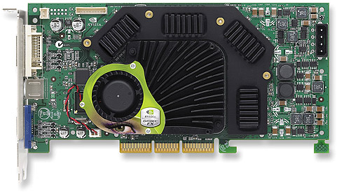 nVidia GeForce FX 5900 Ultra perspic (topview, groot)
