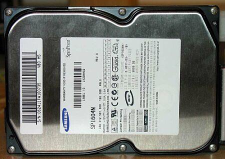 Samsung SP1604N