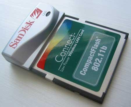 SanDisk 802.11b CF WiFi Card