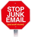 Stop junk e-mail (Spam)