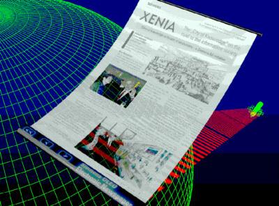 Flexibele OLED-krant