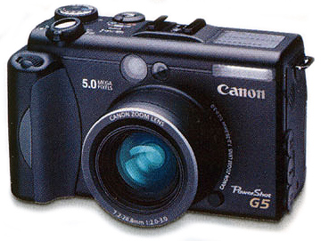 Scan Canon Powershot G5