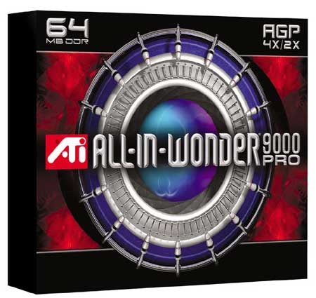 ATi All-In-Wonder Radeon 9000 Pro