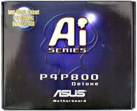 Asus P4P800 Deluxe doos