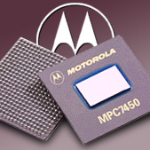 Motorola logo + G4 chip