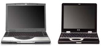 HP Nx7000 en Nc4000