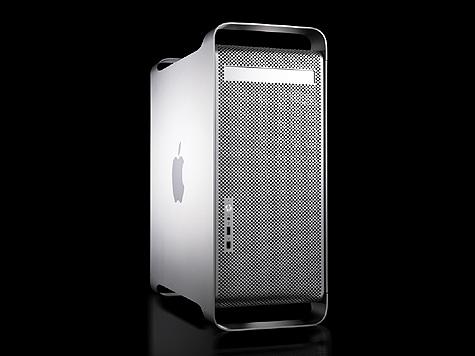 Apple Power Mac G5 doos - voorkant hoek