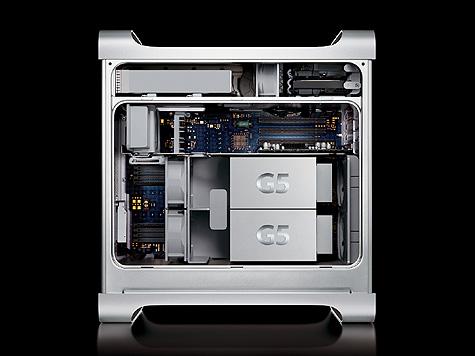 Apple Power Mac G5 doos - open