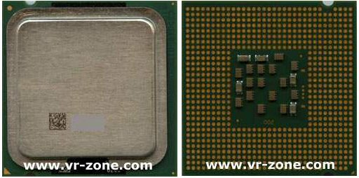 Intel Socket 755 / Socket T sample