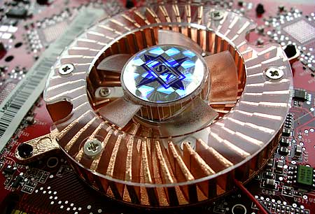 MSI GeForce FX 5900-TD128 close-up