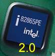 Intel Springdale i865PE chip (Versie 2.0)