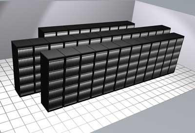 Linux Networx / Los Alamos Lightning cluster