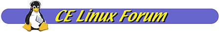 CE Linux Forum (logo)