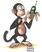 Aap met mobiel