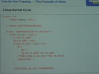 Linux- vs System V-code 2 klein