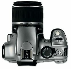 Canon EOS 300D bovenkant (klein)