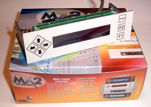Matrix Orbital MX202 review - retail doos