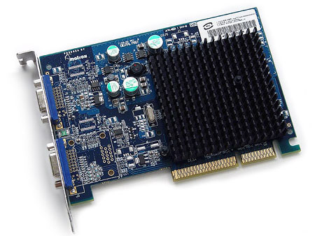 Matrox P650 met D-Sub connectors