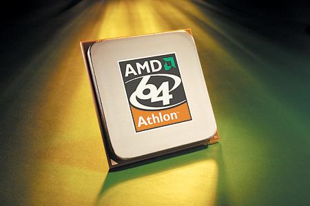 AMD Athlon 64 processor (groen/geel licht, groot)