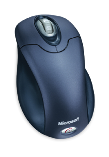 Microsoft WirelessOpticalMouse SteelBlue