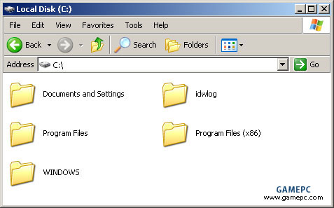 Windows XP 64-Bit Edition Program Files