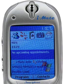 i-Mate Smartphone 2002 - Screen klein