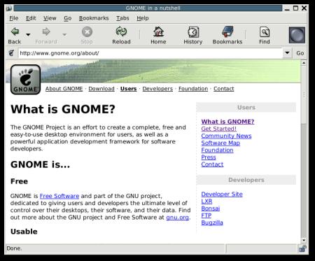 Gnome 2.4 Epiphany