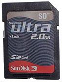 SanDisk ultra 2GB