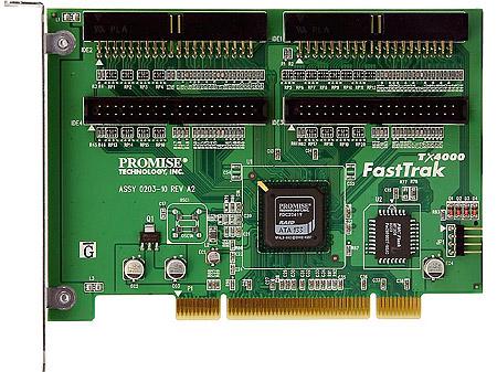 Promise FastTrak TX4000 IDE RAID controller