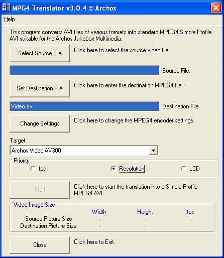 Screenshot AV320