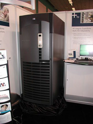 Huge-ass HP-machine