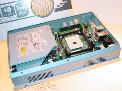 IWill ZPC64 Small Form Factor (inside)