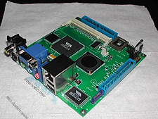 VIA Nano-ITX CN400 (geheel) (klein)