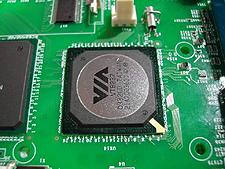VIA Nano-ITX CN400 (VT8237-chip) (klein)