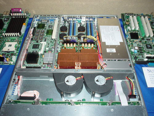 Supermicro 1u dual Itanium 2-server