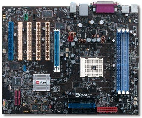 AOpen AK89 Max nForce 3 150 moederbord