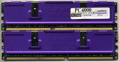 Mushkin PC4000 High Performance-geheugen