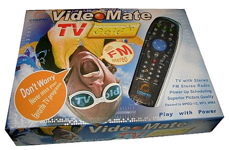 Compro VideoMate TV Gold Plus tuner doos