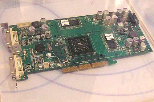nVidia NV40 met GDDR3-geheugen