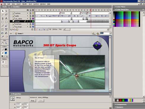 Bapco Sysmark 2004 Macromedia Flash MX (klein)