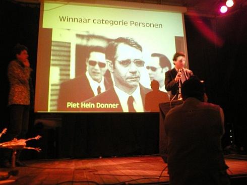 Piet Hein Donner, winnaar Big Brother Award 2003