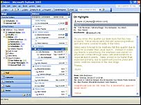 Office 2003 - Outlook (klein)