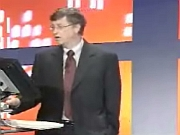 Bill Gates live presentatie Office 2003 (1)