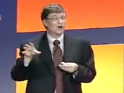 Bill Gates live presentatie Office 2003 (3)