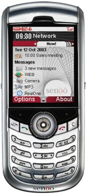 Sendo X smartphone